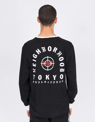 Adidas Neighbourhood Longsleeve Tee Black