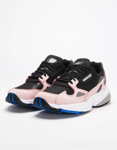 adidas Originals W Falcon Black/Black/Light Pink