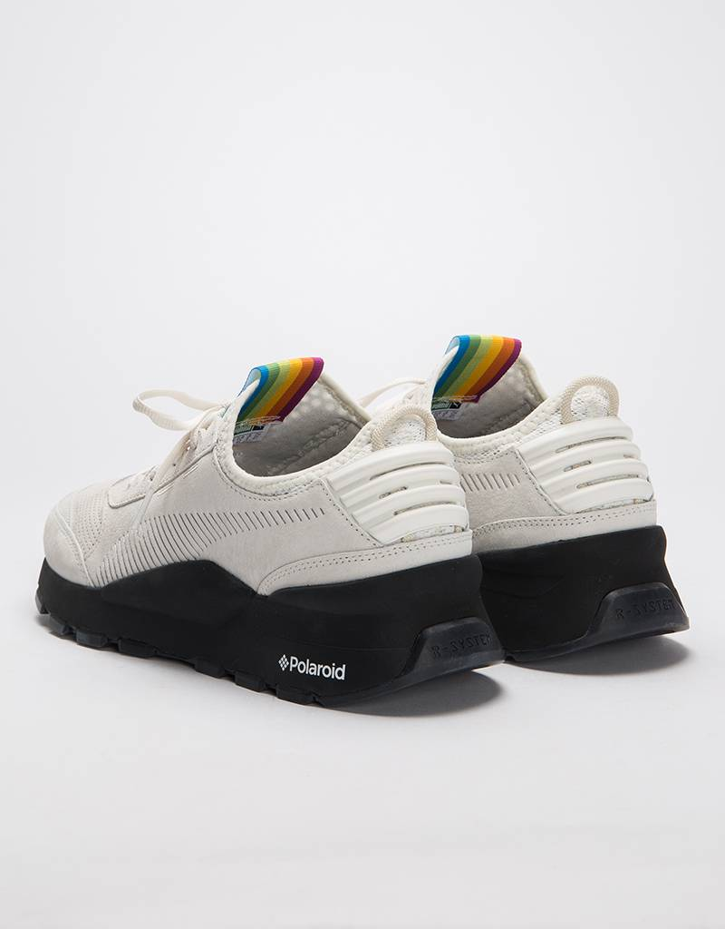 Puma X Polaroid RS-0 Marshmallow-Puma Black