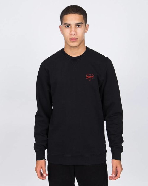 Ceizer Ceizer Amour Embroidery Crewneck Black