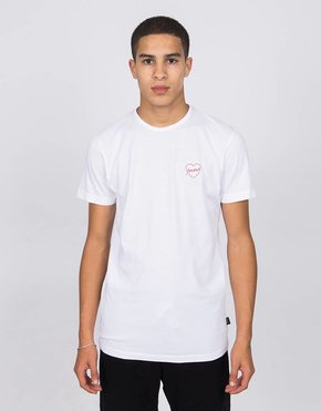 Ceizer Ceizer Amour Embroidery T-Shirt White