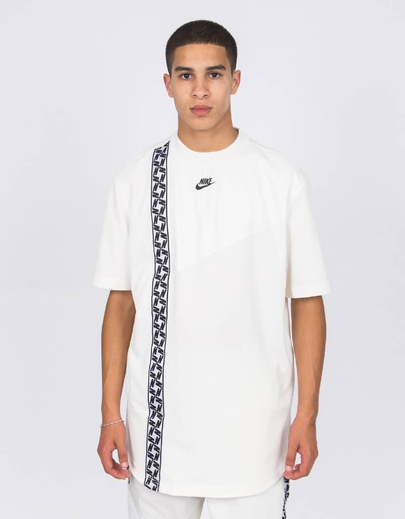 Nike NSW Shortsleeve Top Taped Poly Sail/Black