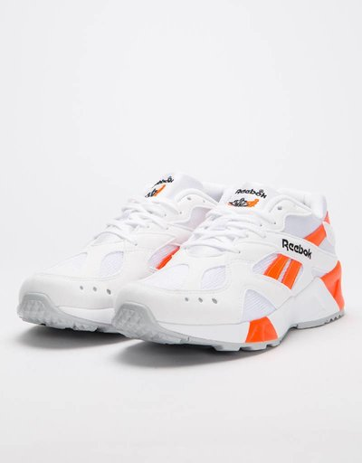 Reebok Aztrek White/Black/Solar Orange