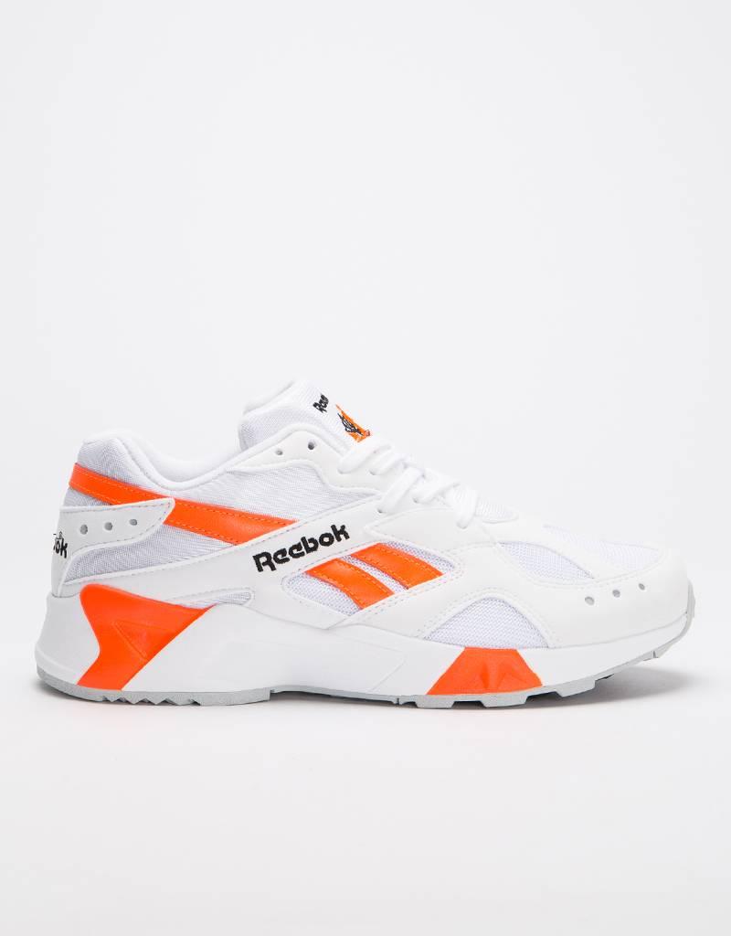 Reebok Aztrek White/Black/Solar Orange