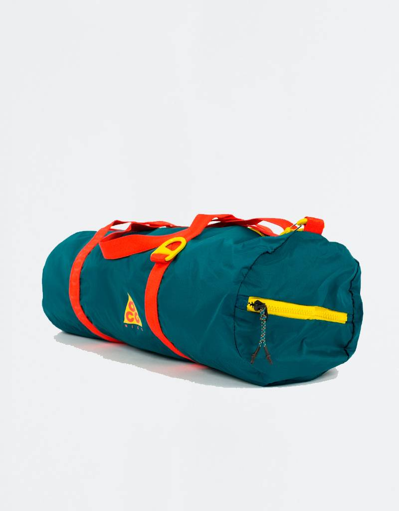 Nike ACG Packable Duffle Bag Geode TealGeode TealHabanero Red online  retailer 4e931 69f77 ... b17420db94dbe