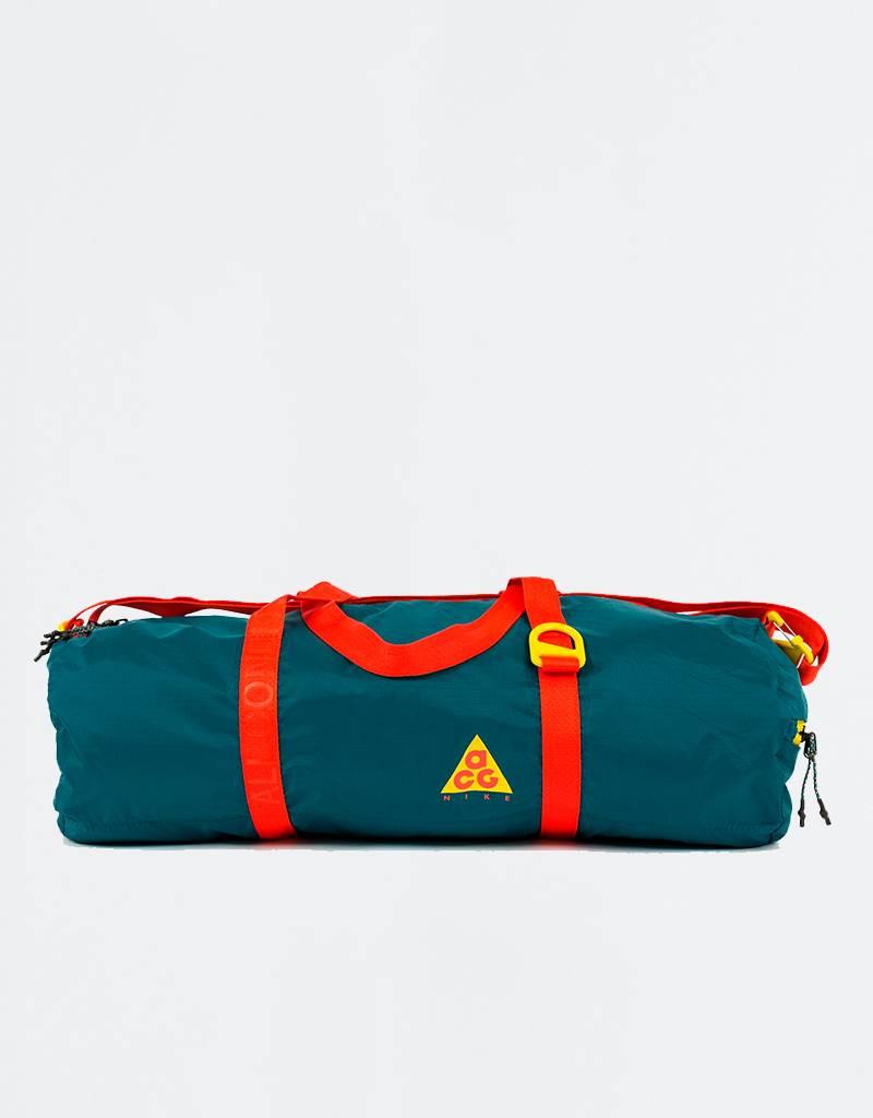 Nike ACG Packable Duffle Bag Geode Teal/Geode Teal/Habanero Red