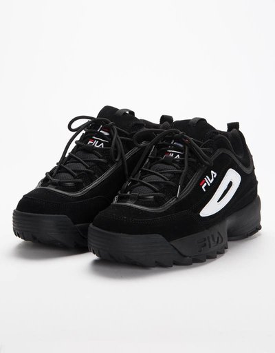 Fila Disruptor S Low Black/Black