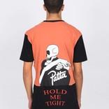 Patta Collar Logo T-Shirts Apricot Brandy