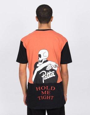 Patta Patta Collar Logo T-Shirts Apricot Brandy