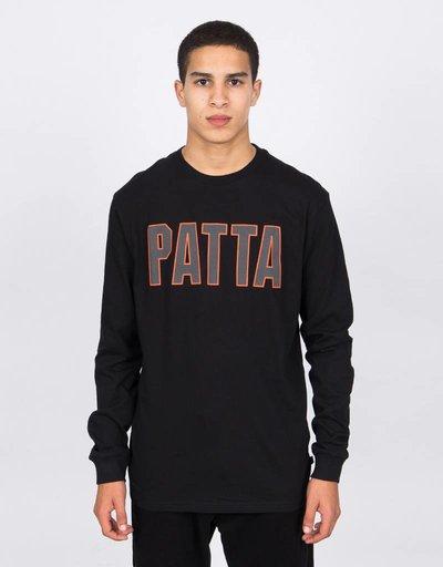 Patta Longsleeve T-Shirt Athletic Logo Black