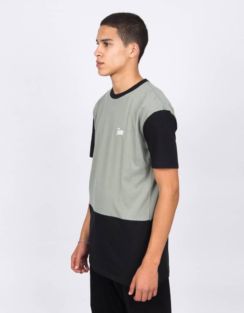 Patta Collar Logo T-Shirts Shadow