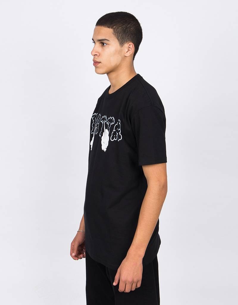 Patta T-Shirt Black Smoke