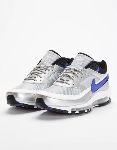 Nike Air Max 97/BW Metallic Silver/Persian Violet Black