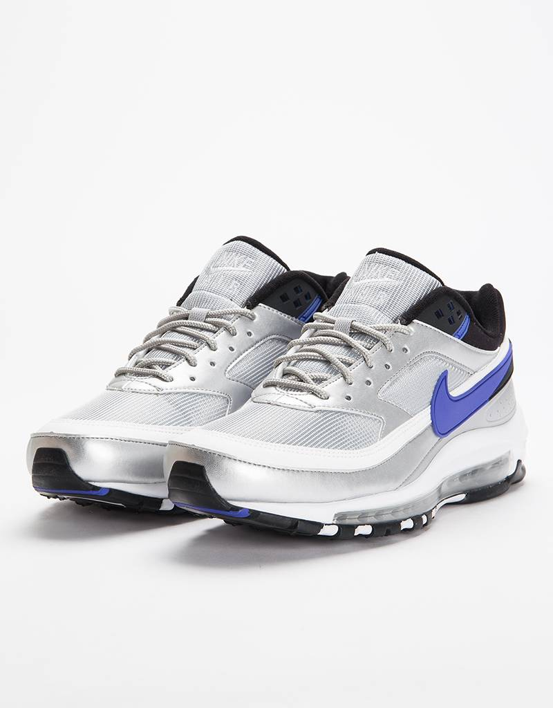 the best attitude 4703d f0d7d ... low price nike air max 97 bw metallic silver persian violet black 0bfa3  fd053
