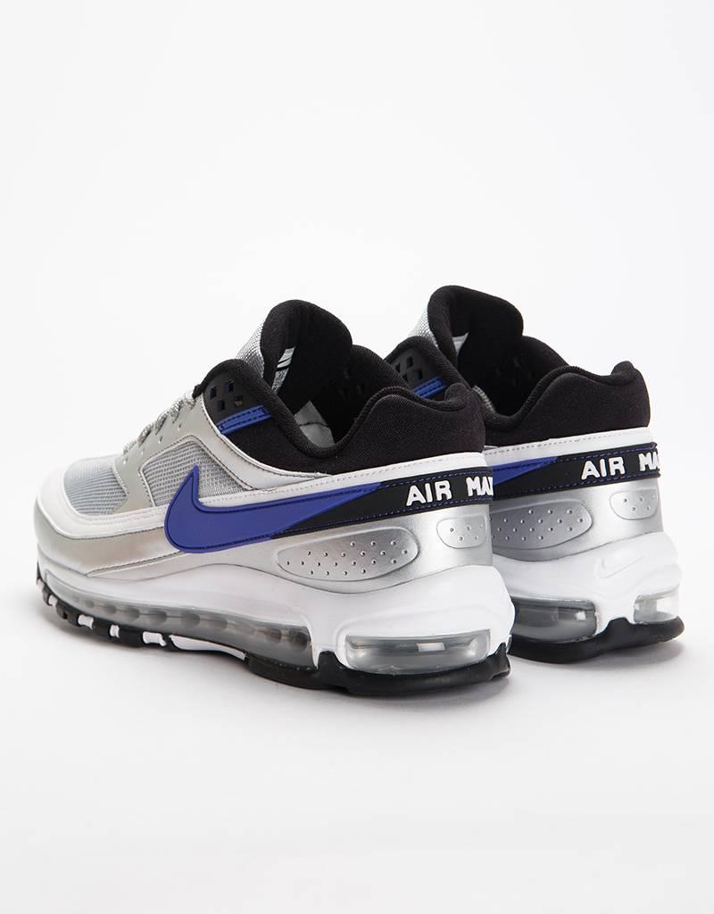 Nike Air Max 97/BW Metallic Silver/Persian Violet Black