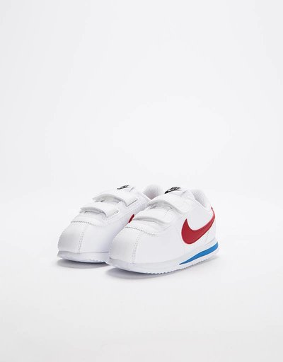 Nike Boys Cortez Basic SL Toddler White/Varsity Red-Varsity Royal-Black