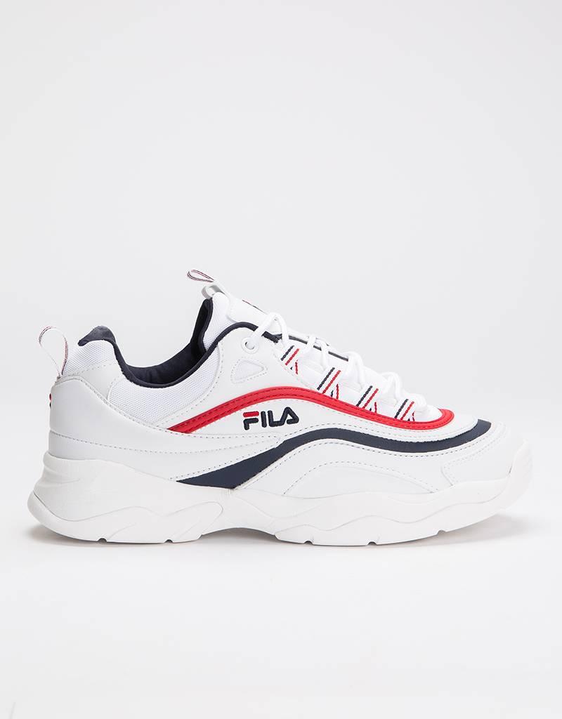 Fila Ray Low White/Fila Navy/Red