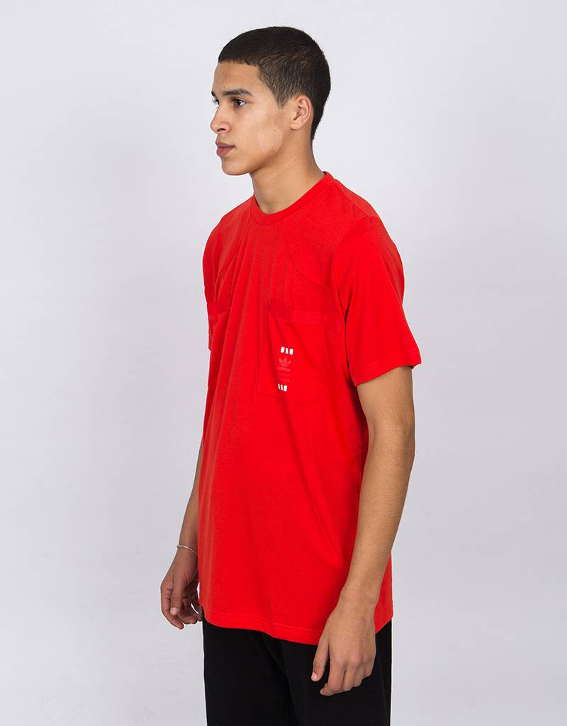 Adidas 72 HR Shortsleeve Tee Bright Red