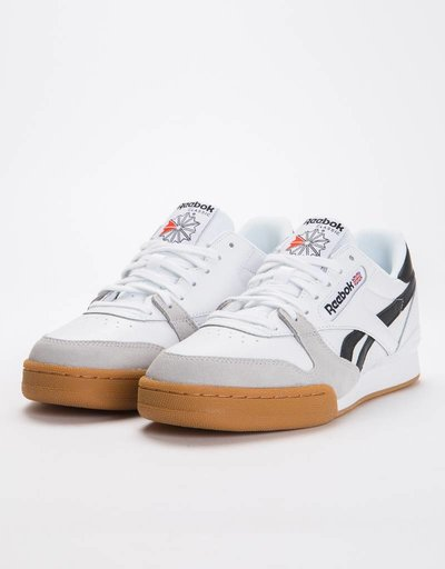 Reebok Phase 1 Pro Mu Gum-White/Black/Snow