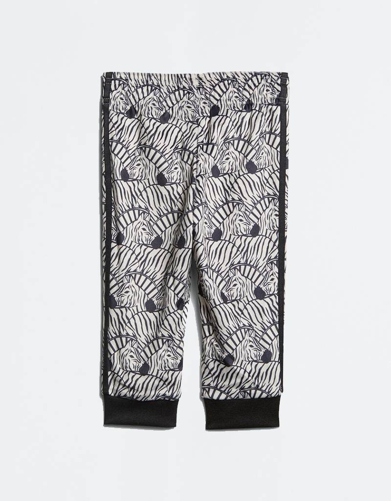 Adidas Zebra St Tracksuit Cbrown/Black