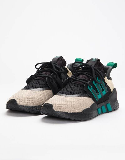 Adidas Consortium EQT Packer 91/18 Packer Core Black/Sub Gree S 13/Blanch Cargo