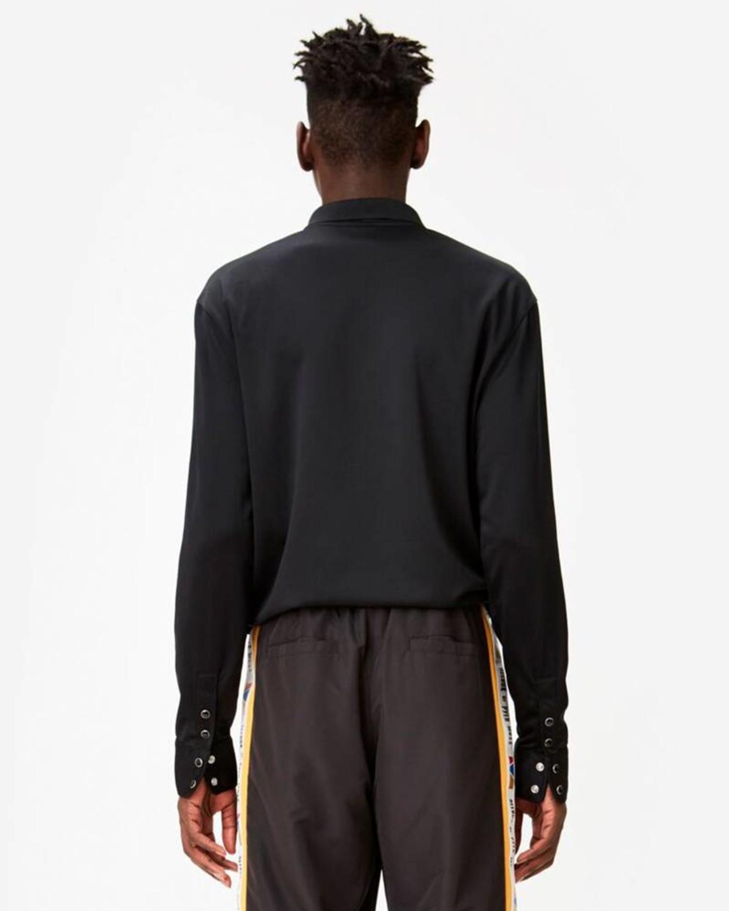Reebok by Pyer Moss Longsleeve Polo Black/Black