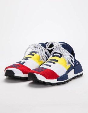 Adidas Adidas by Pharrell Williams Hu NMD BBC Ftwr white/Scarlet/Dark Blue