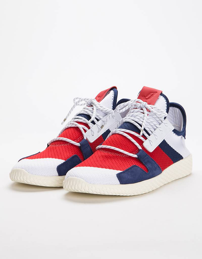 Adidas Tennis Hu BBC Ftwr white/Scarlet/Dark Blue