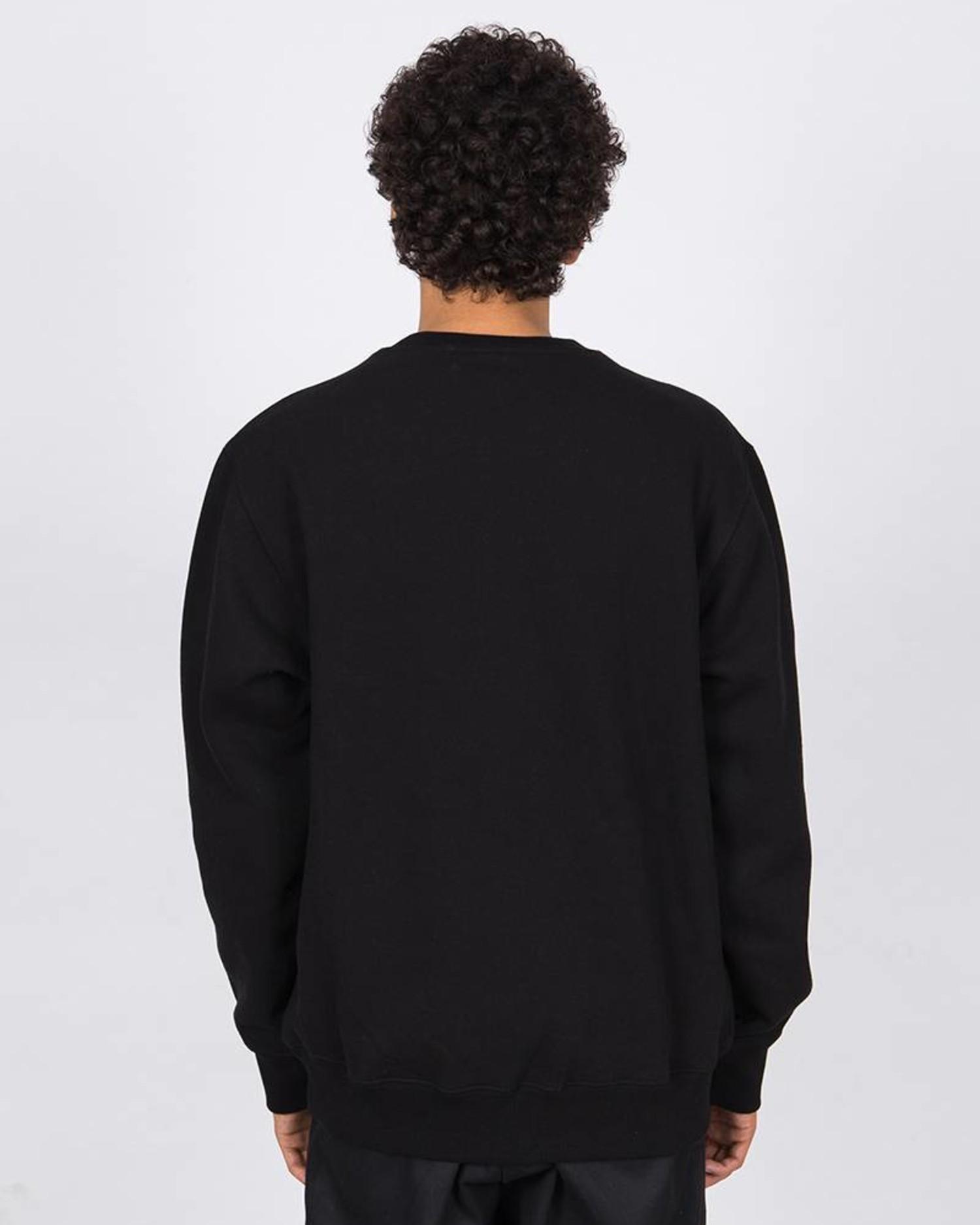 Have A Good Time Mini Frame Crewneck Sweater Black