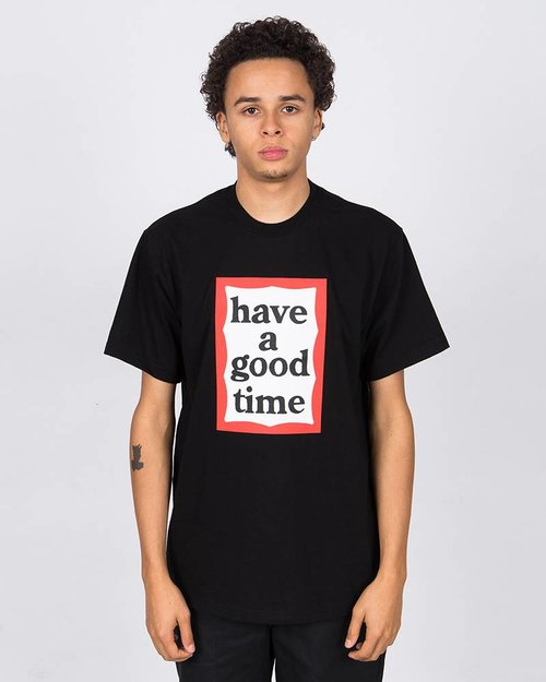 HAVE A GOOD TIME Have A Good Time Frame Shortsleeve Tee Black