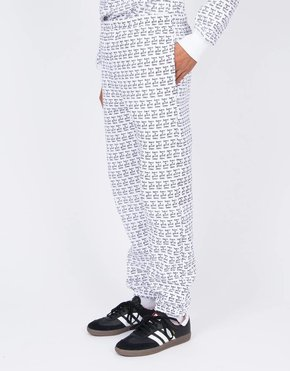 HAVE A GOOD TIME Have A Good Time All Over Sweat Pant White