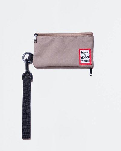 Have A Good Time Frame Pouch Sand