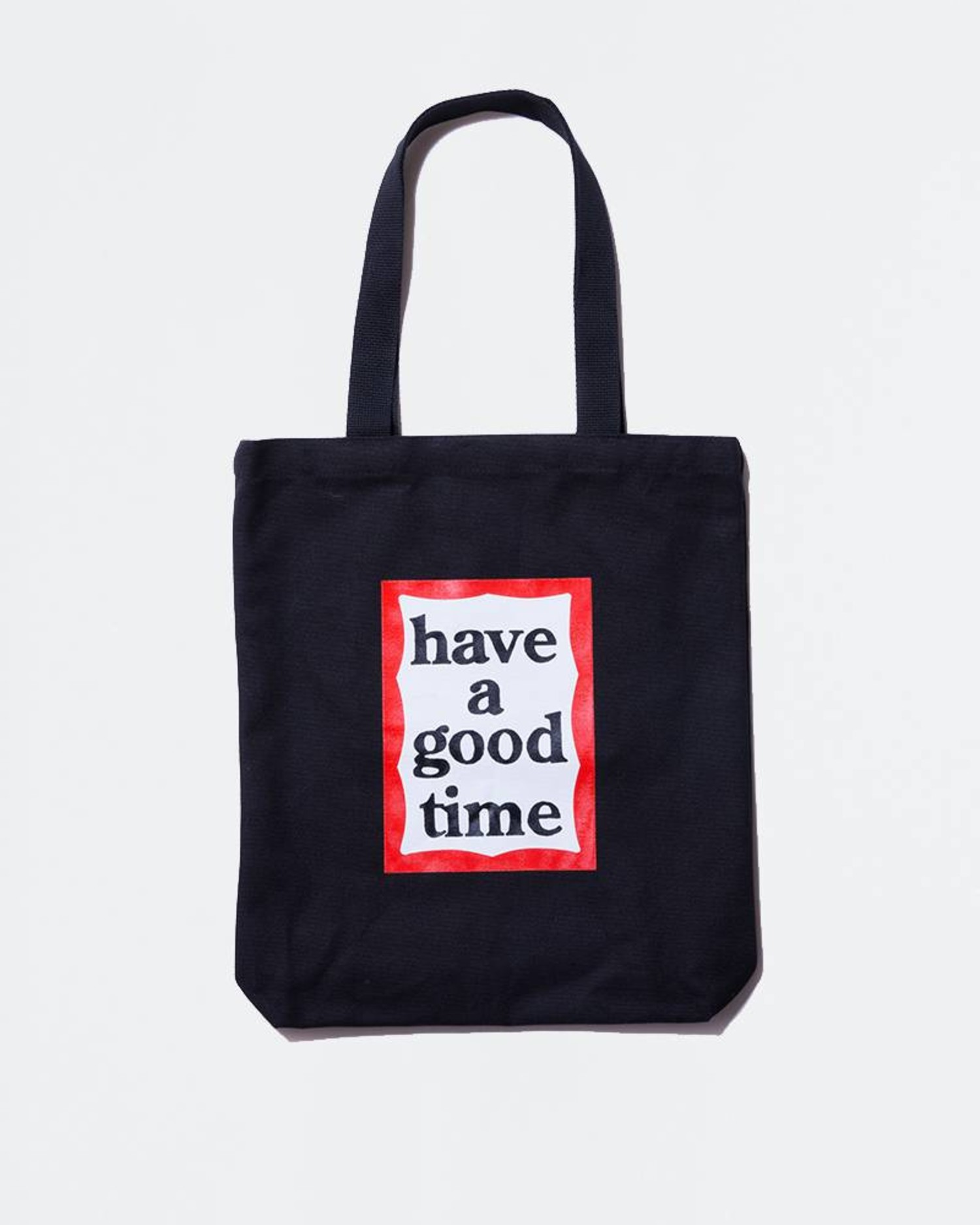 Have A Good Time Frame Tote Black
