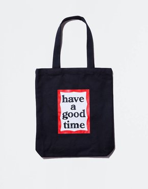 HAVE A GOOD TIME Have A Good Time Frame Tote Black