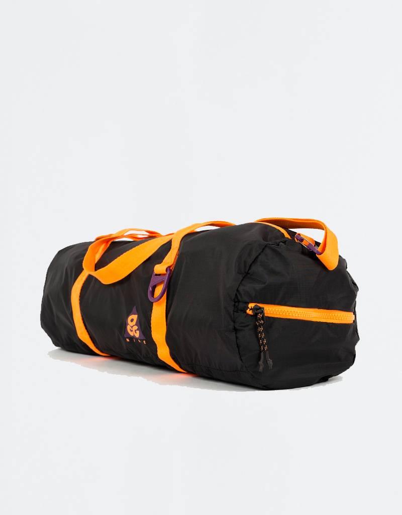 Nike ACG Packable Duffle Bag Night Purple/Black/Bright Mandarin