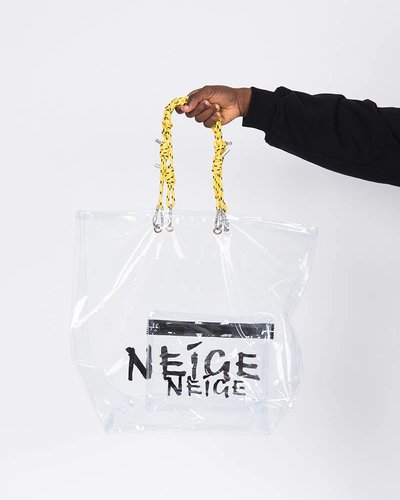Neige PVC Shopper Bag