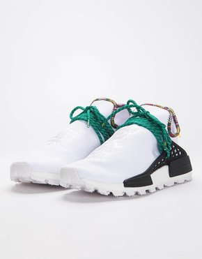 Adidas Adidas by Pharrell Williams Solar Hu Nmd Supplier Ftwr White/Bold Green/Bright Yellow