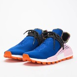 Adidas by Pharrell Williams Solar Hu Nmd Power Blue/Light Pink/Orange