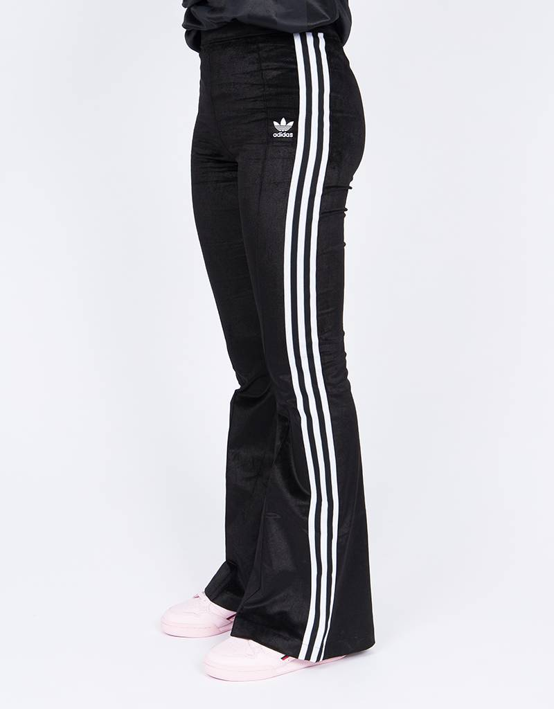 Adidas Flared Trackpant Black
