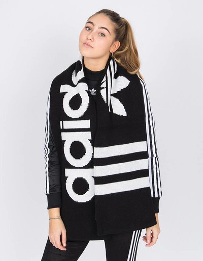 Adidas Scarf Black White