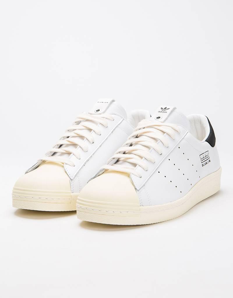 5e481dccef0d Adidas Superstar 80 s Slam Jam Ftwr White Ftwr White Ftwr White - Avenue  Store