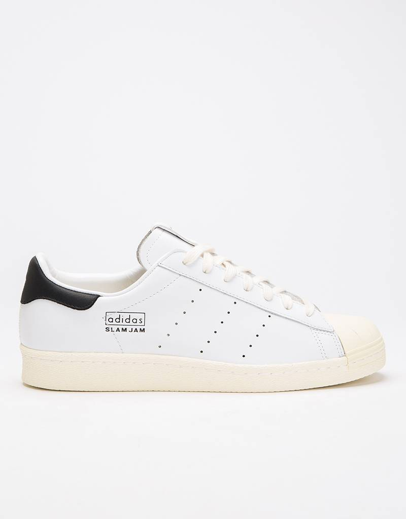 adidas Consortium x Slam Jam Superstar 80's Ftwr White