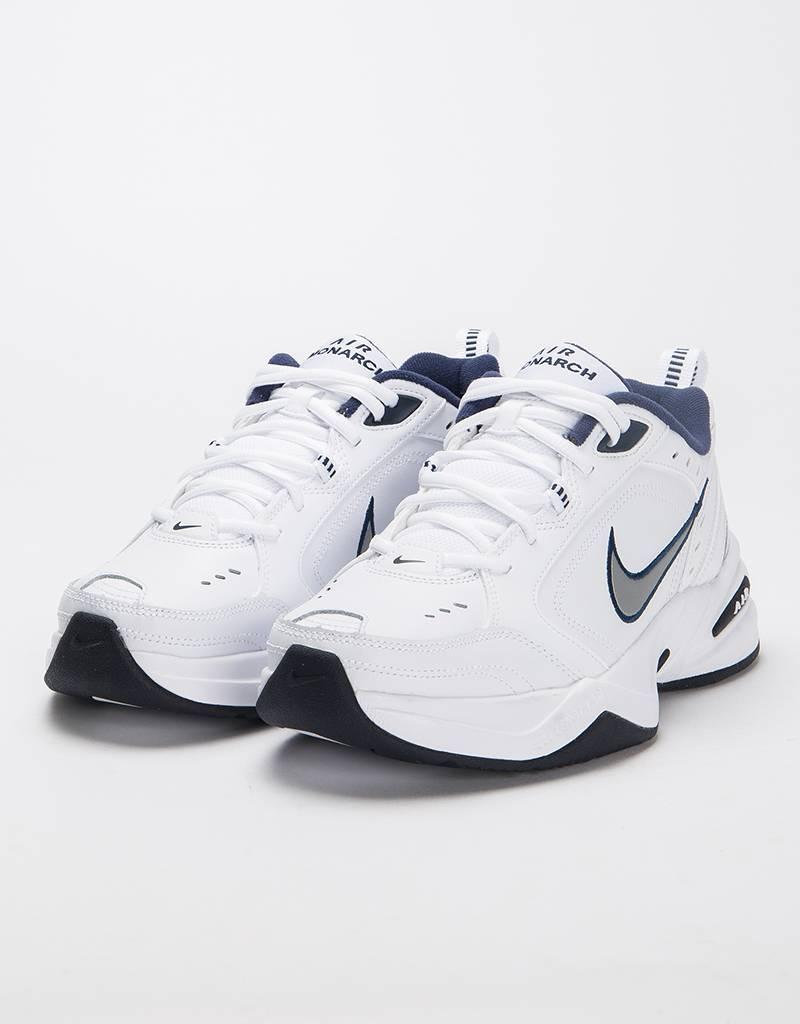 56ec50a89bb1fd Nike Air Monarch IV White Metallic Silver - Avenue Store