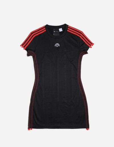Alexander Wang X Adidas Dress Black/Coral Red