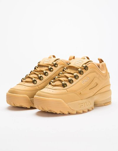 Fila Womens Disruptor Clay Low Chipmunk