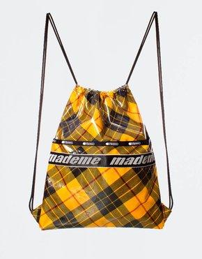 Made Me x Lesportsac MadeMe x Lesportsac Drawstring Back Pack Yellow Plaid