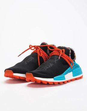 Adidas Adidas by Pharrell Williams Solar Hu Nmd Supplier Core Black/Clear BLue/Collegiate Orange