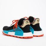 Adidas by Pharrell Williams Solar Hu Nmd Supplier Core Black/Clear BLue/Collegiate Orange
