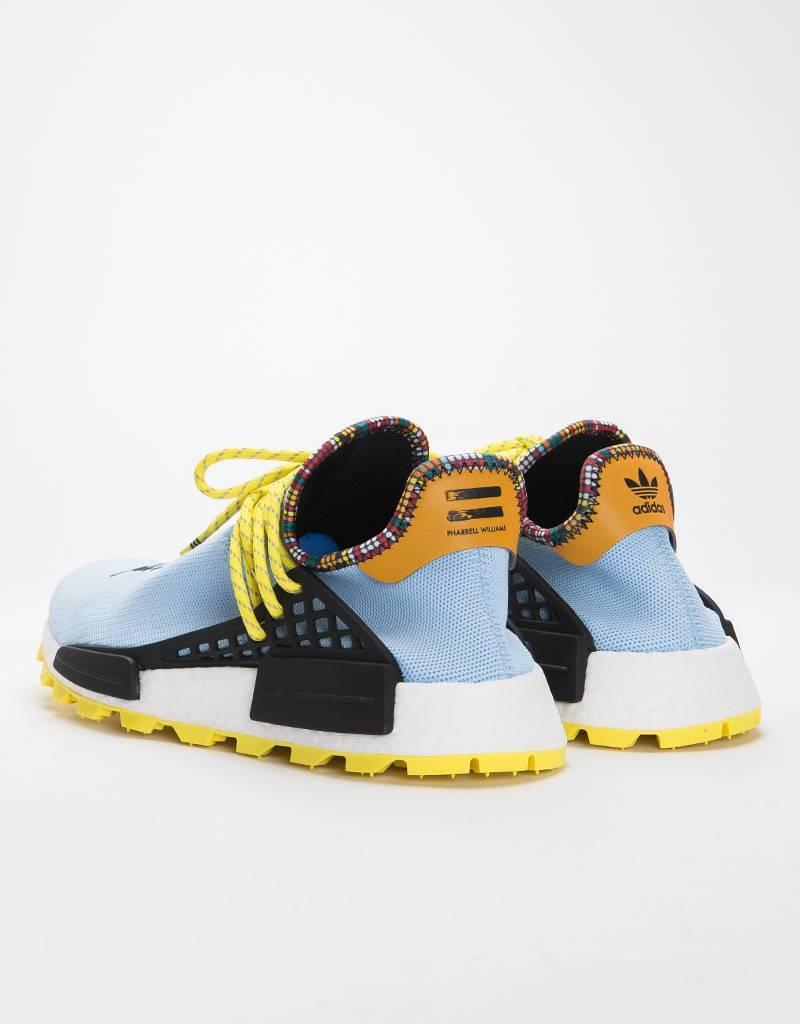 Adidas by Pharrell Williams Solar Hu Nmd Supplier Colour/Core Black/Bright Orange