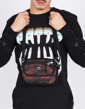 Patta Patta Tiger Stripe Lbn Jp Cross Body Bag Camo